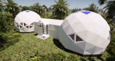 DOMOS GEODÉSICOS VENTA SPAIN - Domo casa kit para usar en tu tierra
